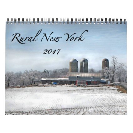 Rural New York 2017 Nature Photography Calendar