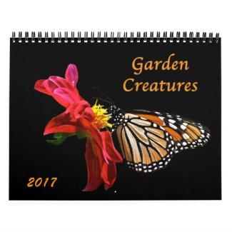 Garden Creatures 2017 Animal Nature Calendar