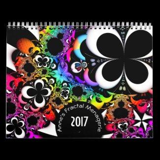 Anne's Fractal Menagerie 2017 Calendar