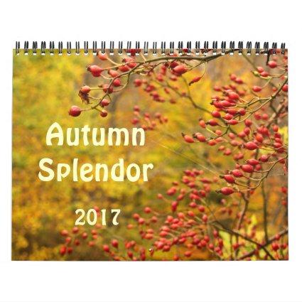 Autumn 2017 Nature Calendar