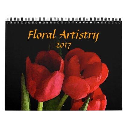 Floral Gardens 2017 Flower Nature Calendar