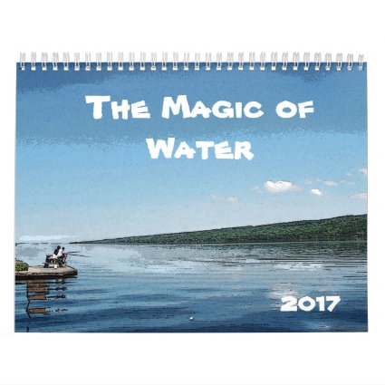 Water 2017 Art Nature Photography Calendar