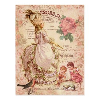 Mademoiselle Couture Postcard