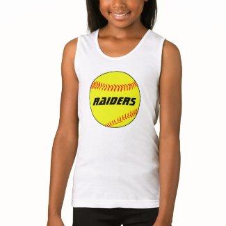 Girls Softball Custom Practice Jerseys T Shirt