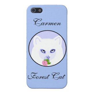 Carmen Forest Cat iPhone SE/5/5s Case