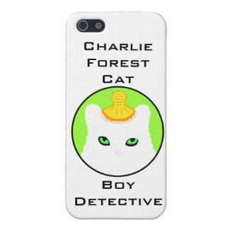White Kitten Norwegian Forest Green Eyes Cute Cover For iPhone SE/5/5s