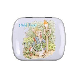 Vintage Rabbit Candy Tin Favors