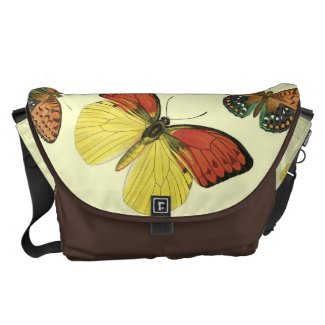 Butterfly Large Messenger Bag