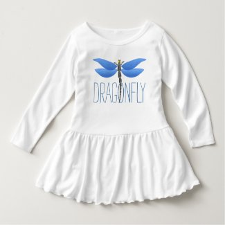 Party time! Blue dragonfly personalized Shirt