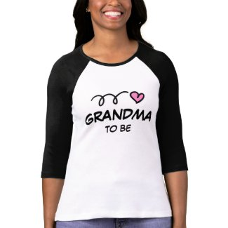 Grandma to be t shirt