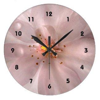 Cherry Blossom Sakura Flower Clock