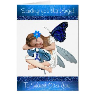 Sending you This Angel, ME/CFS support card