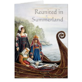 Reunited in Summerland Card