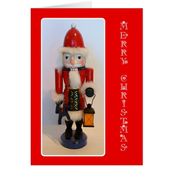Santa Claus Nutcracker Card