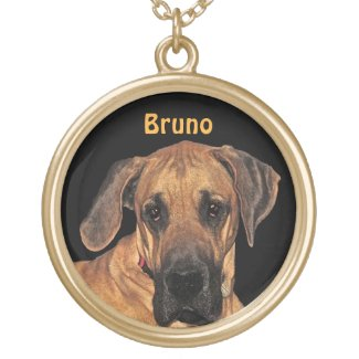 Great Dane Gentle Giant Pendant