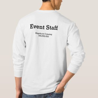 Wedding Event Staff Shirt
