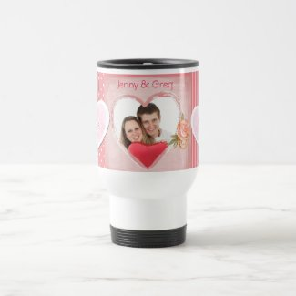 Sweethearts Couple Photo Mug