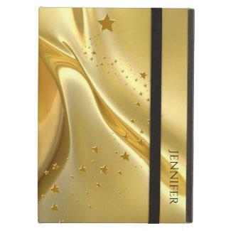 Liquid Gold iPad Air Folio Case Case For iPad Air
