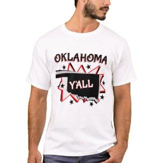 Oklahoma State Pride Y'all T-Shirt
