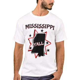 Mississippi State Y'all T-Shirt