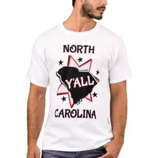 North Carolina State Y'all T-Shirt