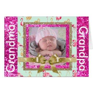 Granddaughter Card for Grandma and Grandpa