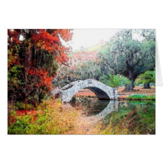 Stone Bridge City Park Card