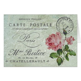 Petite Rose Confection Card