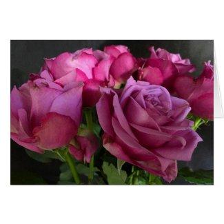 Pink Chiffon Card