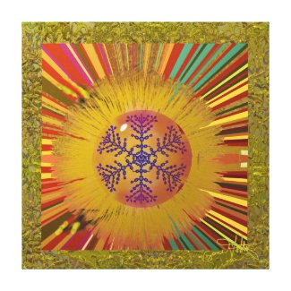 Ornament Canvas Print