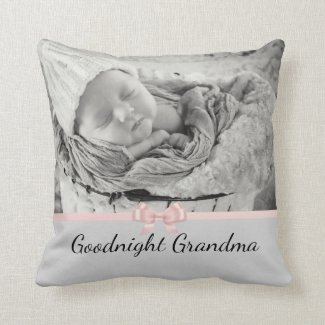 Adorable Personalized Gift for Grandma Pillow