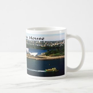 The Sndney Opera House Coffee Mug