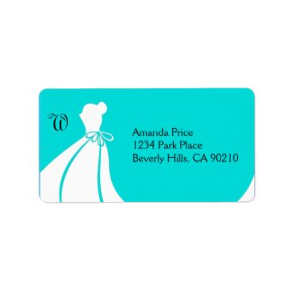 Wedding Shower Invite or Thank You Address Labels