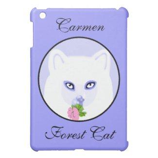 Carmen Forest Cat iPad Mini Cases