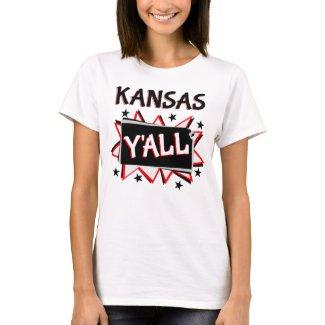Kansas State Pride Y'all T-Shirt