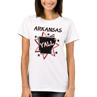 Arkansas State Pride Y'all T-Shirt