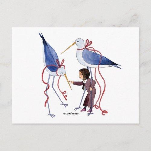 美しい鳥 postcard
