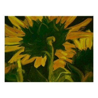 0010-behind the sunflower print