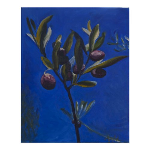 001-The Olive Branch print
