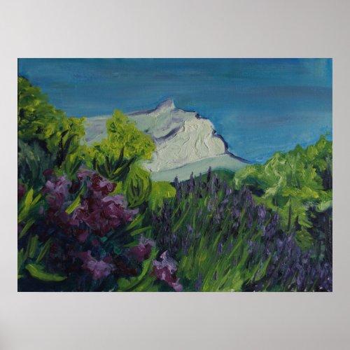 0035-la Ste Victoire in summer print