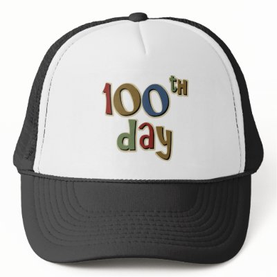 100th day hat for 100th day hat template