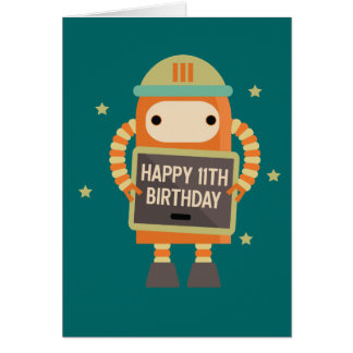11 Year Old Birthday Cards Zazzle