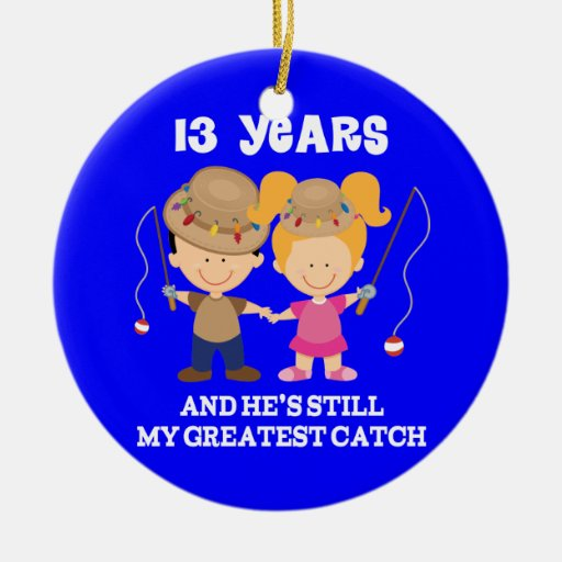 13th Wedding Anniversary Gift For Her: 13th Wedding Anniversary Funny Gift For Her Ceramic