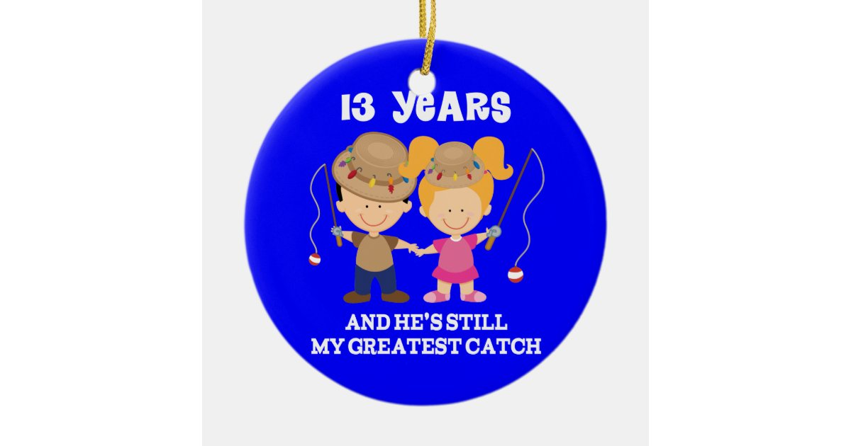 13 Wedding Anniversary Gifts: 13th Wedding Anniversary Funny Gift For Her Ceramic