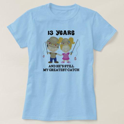 13 Wedding Anniversary Gift Ideas: 13th Wedding Anniversary Gift For Her T-Shirt