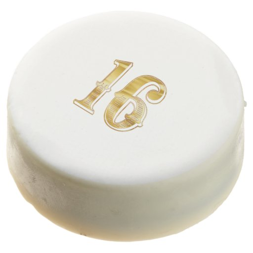 What Is The 16th Wedding Anniversary Gift: 16th Anniversary Birthday Sweet 16 Cookie