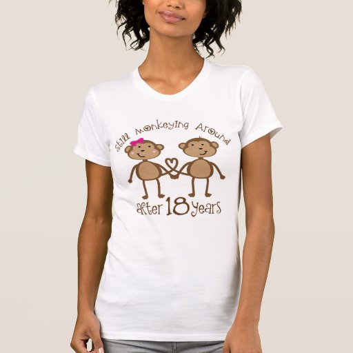 Gifts For 18th Wedding Anniversary: 18th Wedding Anniversary Gifts T-Shirt