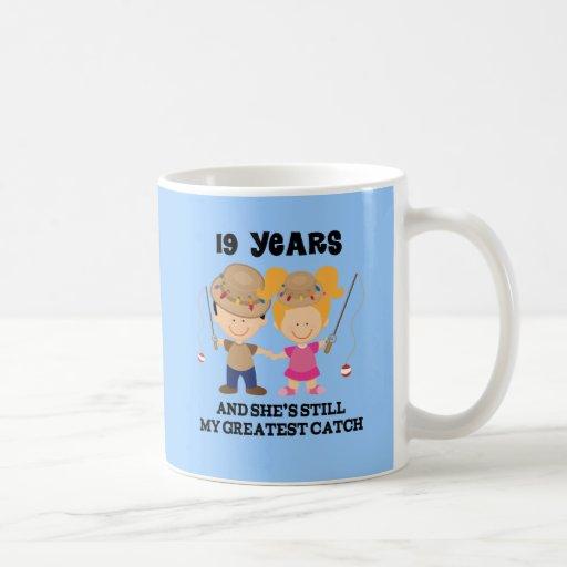19th Wedding Anniversary Gift For Him Mug