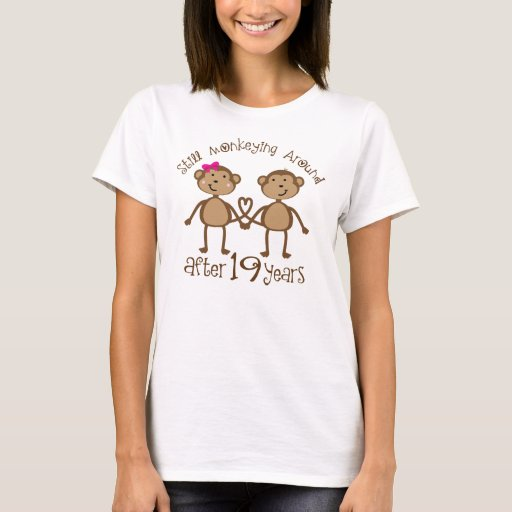 Gifts For 19th Wedding Anniversary: 19th Wedding Anniversary Gifts T-Shirt