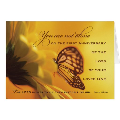 9 Year Death Anniversary Quotes: 1st, First Anniversary Death Of Loved One Flower Card